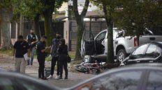 Zuviría al 200, el lugar donde la Chevrolet S-10 embistió y mató a dos motociclistas.