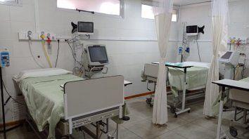 La nueva sala de terapia intensiva del Hospital San Carlos.