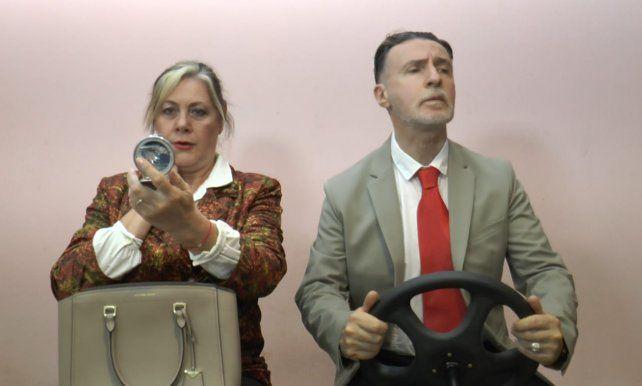 Alejandra Rubino y Fernando Panzeri encarnan a una pareja con problemas en Seguiremos siendo felices