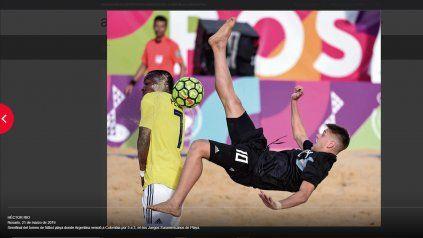 Juegos Suramericanos de playa Rosario 2019.