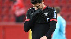 El Leverkusen de Lucas Alario tropezó ante Wolfsburgo