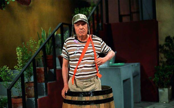 Niño grande. Chespirito interpretó al Chavo hasta pasado los 60 años.