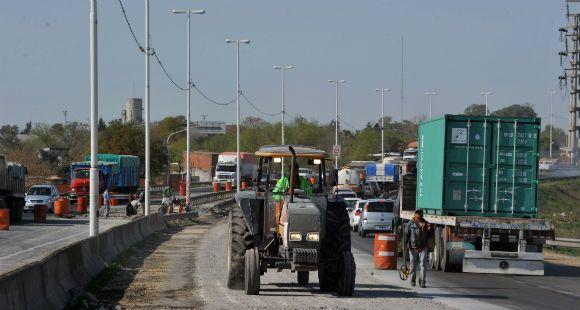 La Circunvalación estará cerrada a la altura de Mendoza por trabajos sobre la traza