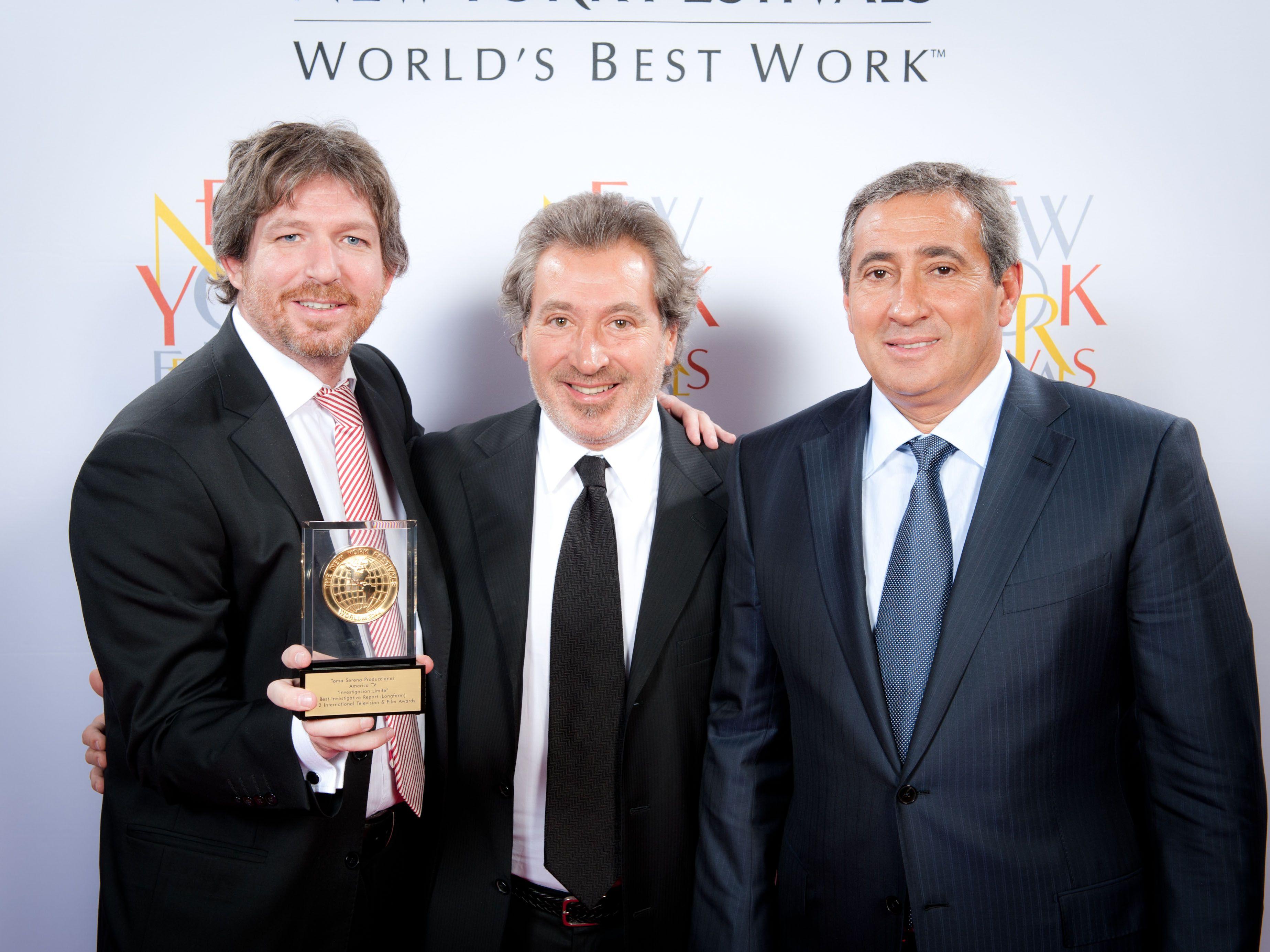 Investigación Límite ganó la medalla de oro del Festival de Nueva York
