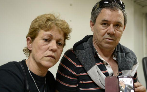 Padres. Anahí y Norberto reclaman justicia por el asesinato de Nicolás.