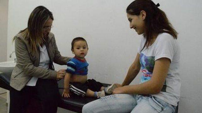 Más atención médica. Los controles de pediatría