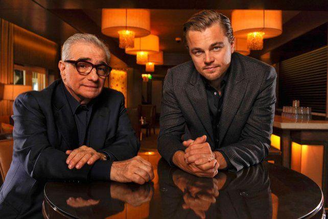 Martin Scorsese y Leonardo DiCaprio en su quinta colaboración.