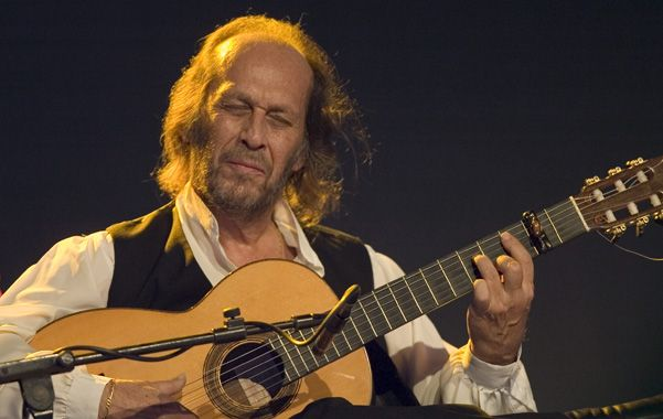 Mago de la guitarra. Paco de Lucía comenzará su gira en La Habana.