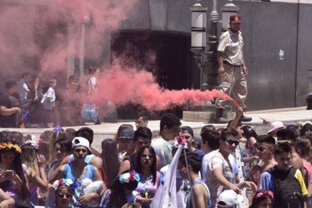 en foco. El municipio remarcó que las fiestas deberán realizarse en lugares habilitados y no en plazas.
