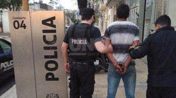 El hombre detenido