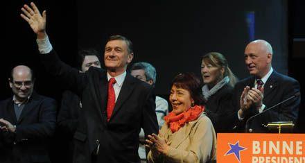 Binner lanzó su frente electoral y le dio impulso al sueño presidencial