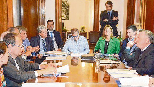 negociaciones. Agosto y Borgonovo