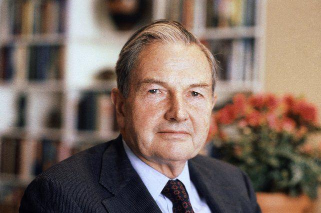 Murió a los 101 años el millonario banquero estadounidense David Rockefeller en New York