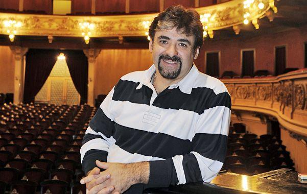 Un tenor virtuoso. Rubén Martínez es el régisseur de El elixir de amor.