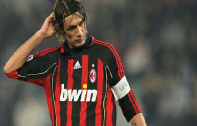 Soy el mayor perdedor de la historia, aseguró Paolo Maldini