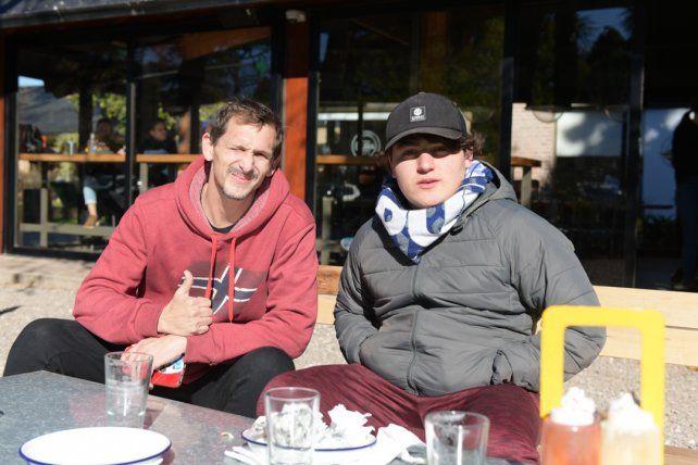 Sergio Saligoi e Ignacio Campos