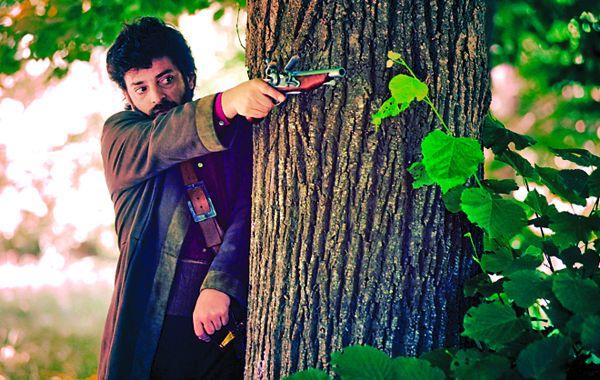 Al combate. Garibaldi (Pablo Rago) deberá defender la vida de su familia.