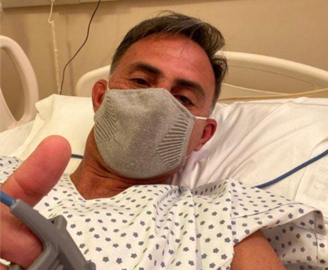Coronavirus: Diego Latorre fue internado tras sufrir complicaciones respiratorias