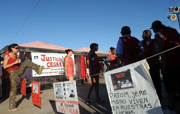 Al cumplirse 11 meses del crimen de villa Moreno hubo un festival artístico.