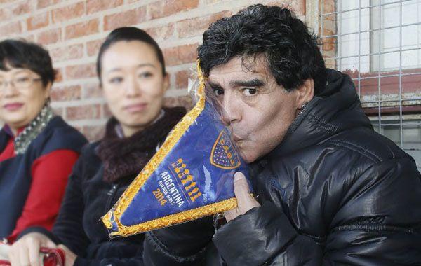 Diego criticó también a Carlos Bianchi por su nula autocrítica durante la conferencia de prensa.