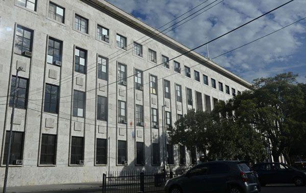 En la sede de Tribunales