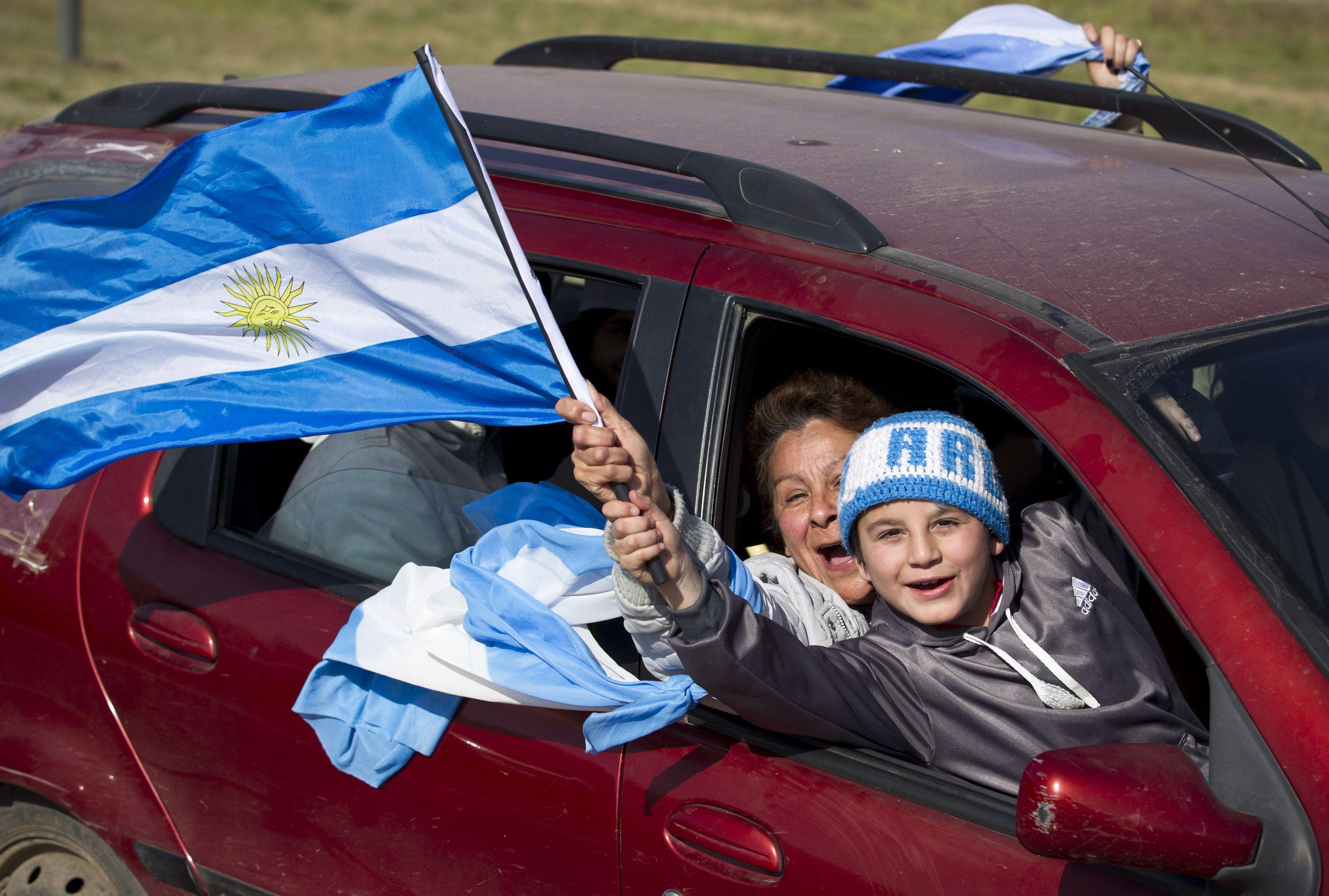 Ya están los dos ganadores de las entradas para ver hoy a Argentina