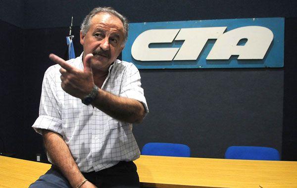 El secretario general de la CTA oficialista