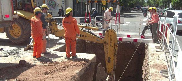 Las obras beneficiarán a más de 40 mil vecinos. (Foto de archivo)