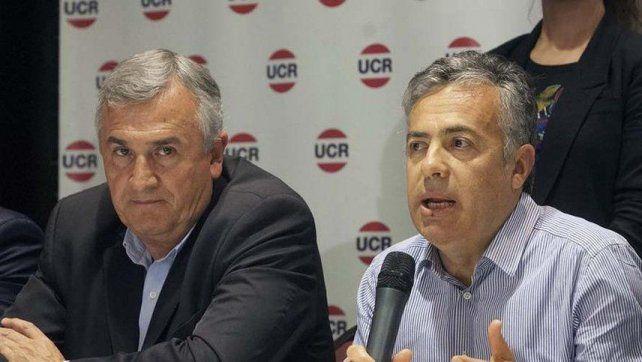 Cornejo y Morales cuestionaron una eventual candidatura presidencial de Macri en 2023.