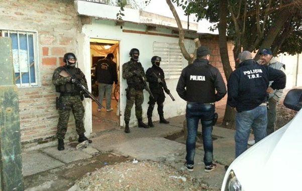 Redada. Tras la acción del 3 de julio pasado tres personas siguen detenidas.