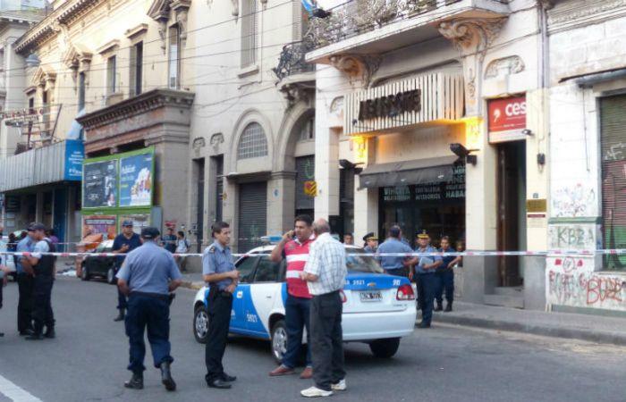 El policía fue baleado salió a detener a un ladrón y fue baleado. (Foto: Angel Amaya / La Capital)