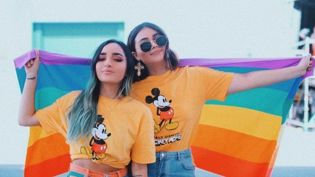 Arrolladoras. María José (Poché) y Daniela (Calle) tienen casi siete millones de seguidores en YouTube y tres en Instagram.