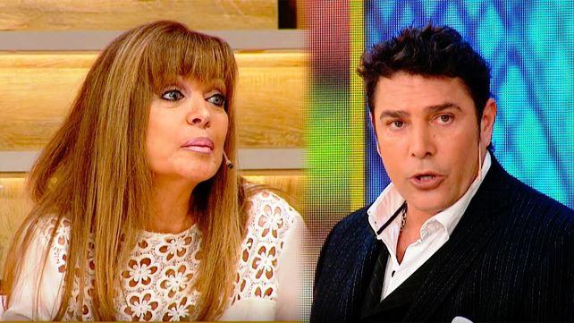 Matías Alé y Adriana Salgueiro hicieron una broma que terminó en algo serio