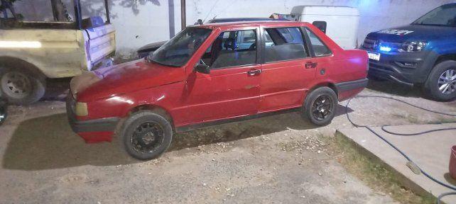 El auto secuestrado tenía pedido por robo en Casilda.