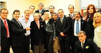 El que faltaba: Showmatch metió a Menem en la casa de Gran Cuñado
