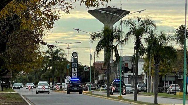 La seguridad vial se incrementó en la esquina donde el motociclista perdió la vida tras chocarse la soga que cortaba la calle.