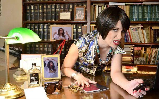 """Natalia Dean. La actriz brilla en el divertido unipersonal """"Sos mi sol""""."""