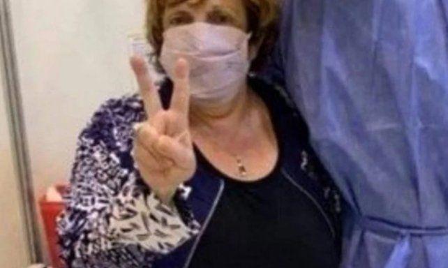 La ex fiscal Fein publicó una foto con un mensaje tras ser vacunada y generó polémica