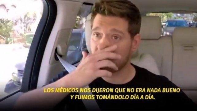 Michael Bublé se quebró al recordar la enfermedad de su hijo