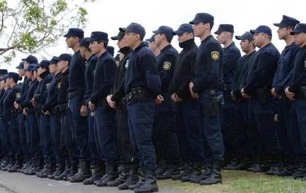 reparos. Giustiniani puso en duda la capacitación de la policía provincial. (S.Salinas)