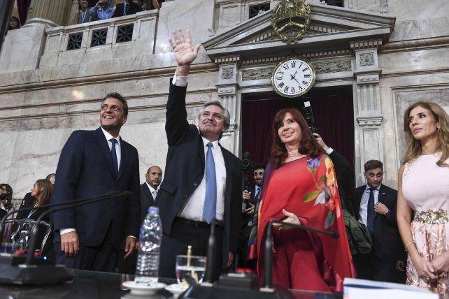 Las críticas de la oposición al discurso de Alberto Fernández