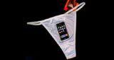 Insólito: lanzan al mercado ropa interior con iPhone!