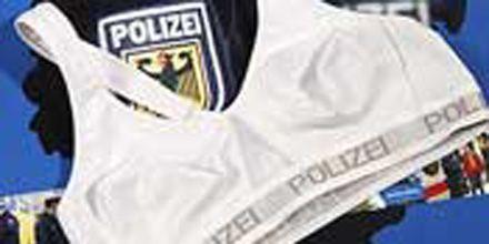 Las policías alemanas tendrán en su uniforme un corpiñó antibalas