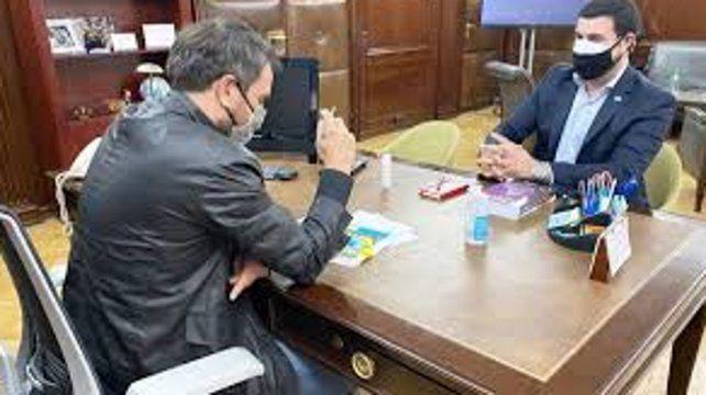 Marcos Cleri se reunió con el ministro de Ambiente de la Nación