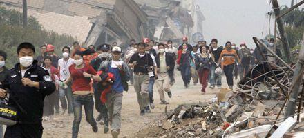 Miles de personas huyen en China ante el riesgo de la rotura de un dique