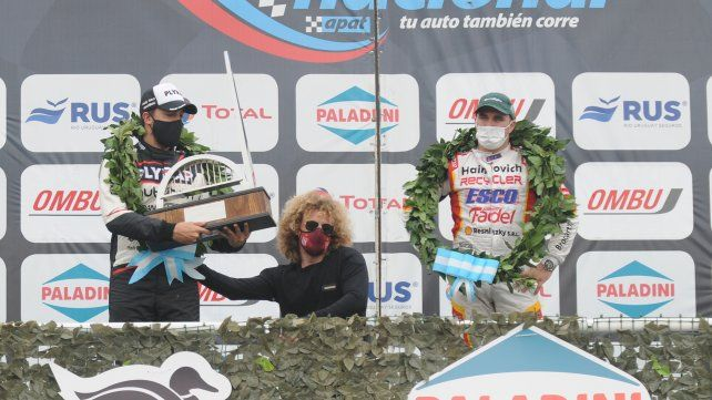 No hay dudas de que el segundo puesto del venadense Franetovich fue en el Gálvez. El trofeo no deja lugar a dudas.
