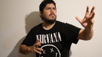 Santiago Motorizado. El músico habló de sus distintos proyectos en la previa de su segundo show en Rosario.