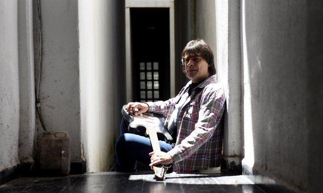 """Bonzo Morelli. El músico cerrará la noche del sábado junto a su banda y hará temas de """"La vida en blues""""."""