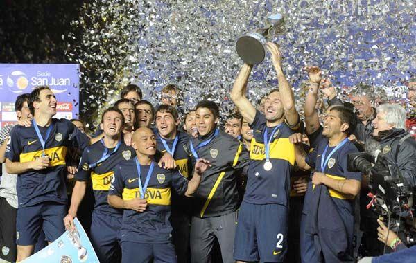 Los xeneises se quedaron con la Copa Argentina y con el premio de cuatro millones de pesos.