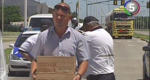 Secuestraron en un operativo alimentos que eran transportados sin respetar la cadena de frío